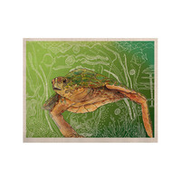 """Catherine Holcombe """"Shelley Green Sea"""" KESS Naturals Canvas (Frame not Included)"""