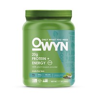 OWYN 100% Vegan Plant-Based Protein Powder, Matcha Tea, Dairy Free, Gluten Free, Soy Free, Allergy Friendly, Vegetarian, 1.1 Pound Tub, 1 Count