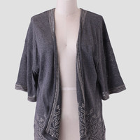 Grand Mesa Embroidered Cardigan