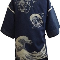 Edoten Original discharge style Cotton100% Jinbei