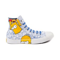 Converse All Star Hi Simpson Family Athletic Shoe, White Blue, at Journeys Shoes