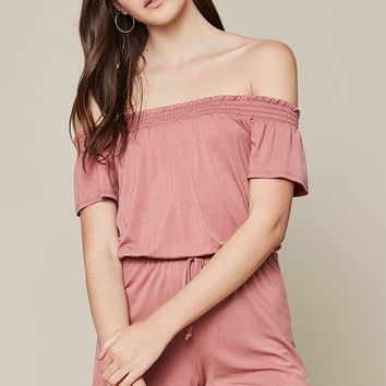 LA Hearts Smocked Romper at PacSun.com