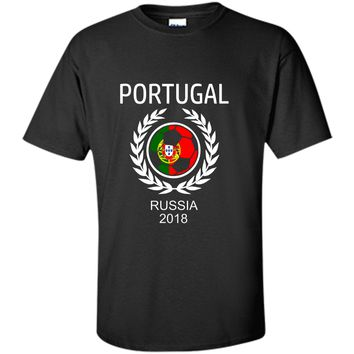 Portugal Soccer Team 2018 T Shirt Football Fan