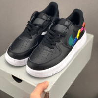 HCXX 19July 670 Nike Air Force 1 Low 315124 Irregular stitching Casual Skateboard Shoes