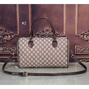 GUCCI Tide brand double G printing fashion women's handbag travel bag #2
