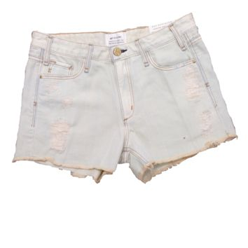 McGuire Denim Mrs. Robinson Short Shorts in Reverend Wash