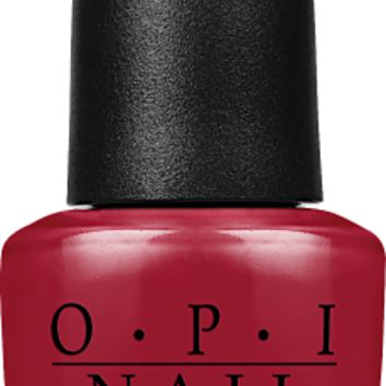OPI Nail Lacquer - Got the Blues for Red 0.5 oz - #NLW52