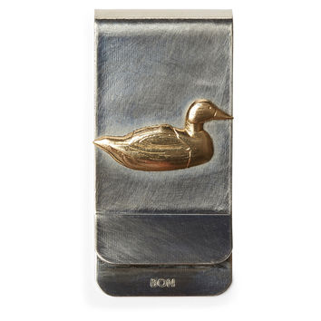 Nickel Money Clip, Duck, Wallets