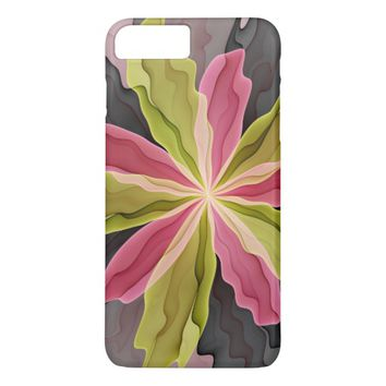 No Sadness, Joy, Fantasy Flower Fractal Art iPhone 7 Plus Case