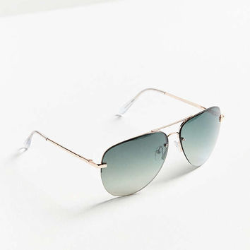 Days In The Sun Aviator Sunglasses | Urban Outfitters