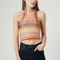 Petite Women's Topshop Crochet Crop Top