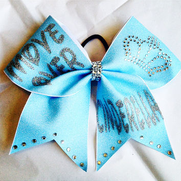 3inch Cheerbow  Disney Move Over Cinderella! Cheer Bow with tons of Bling!