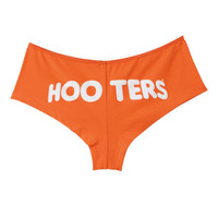 Ladies' Orange Boyshorts - Hooters Consumer Online eStore