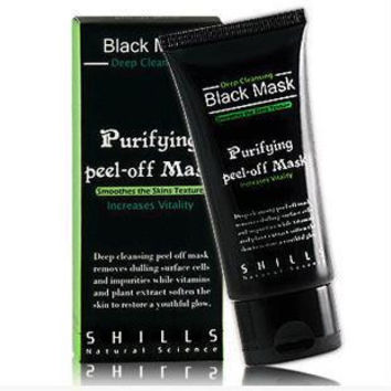Deep Cleansing Purifying Peel Off Mud Blackhead Face Mask Black Mask Remove Black Head Makeup Beauty Gift [9166969796]