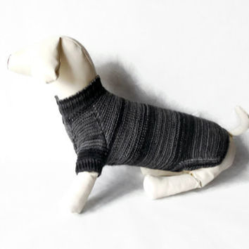 dachshund Dog Sweater Warm Hand Knitting clothes medium dog For Pets