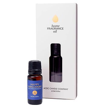 Happy Hanukkah Home Diffuser Fragrance Oil