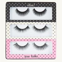 Faux Lashes Trio