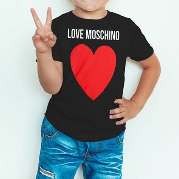 Love heart t shirt kids