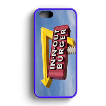 In N Out Burger Funny iPhone 5 Case iPhone 5s Case iPhone 5c Case