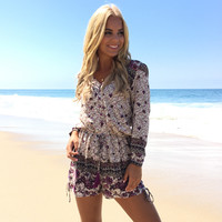 Uncontested Beauty Floral Romper