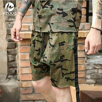 Summer Men camouflage shorts clothes hip hop