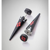 Harley Quinn Fake Taper Set - Spencer's