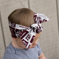 Texas A&M Head Wrap