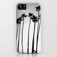 palm trees land iPhone Case by Marianna Tankelevich | Society6