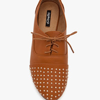 Galen 02 Small Stud Toe N Counter PU Oxford