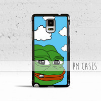 Pepe The Frog Meme Case Cover for Samsung Galaxy S3 S4 S5 S6 S7 Edge Plus Active Mini Note 3 4 5 7