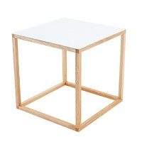 Cube Table - White -18%