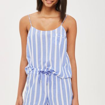 Stripe Camisole Top And Shorts Set | Topshop