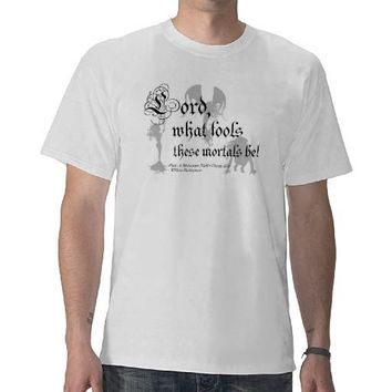 Shakespeare - Midsummer Night's Dream T-shirt from Zazzle.com