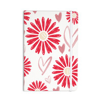 """Alison Coxon """"Hearts And Flowers"""" Love Pink Everything Notebook"""