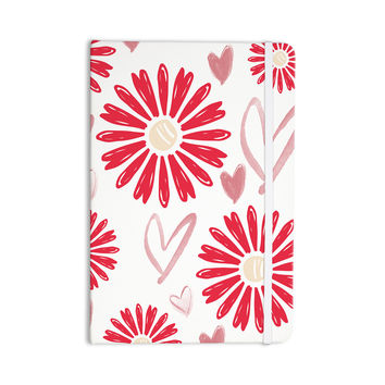 "Alison Coxon ""Hearts And Flowers"" Love Pink Everything Notebook"