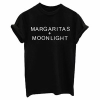 Margaritas Moonlights Tee