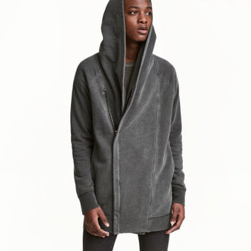 Hooded Sweatshirt Cardigan - from H&M