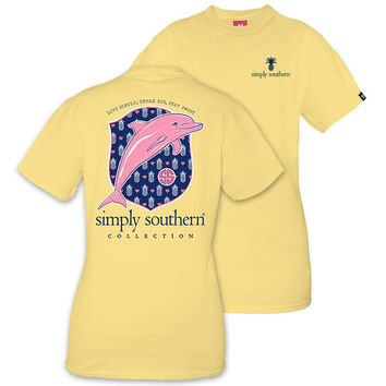 Simply Southern Preppy Dolphin Pineapple T-Shirt