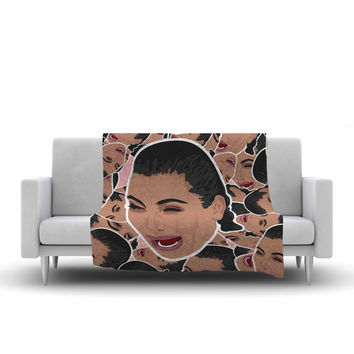 """Juan Paolo """"First World Problems"""" Celebrity Funny Fleece Throw Blanket"""