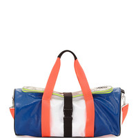 Warrior Colorblock Gym Bag, Azure
