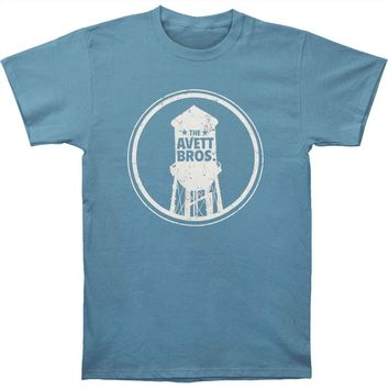 Avett Brothers Men's  Water Tower Slim Fit T-shirt Steel