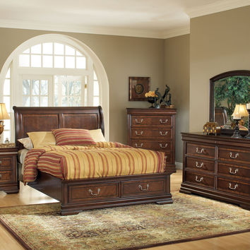 Hennessy 4 Pcs Queen Bedroom Sets