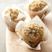 The Bread Project Toasted Almond Mini Blueberry Muffins