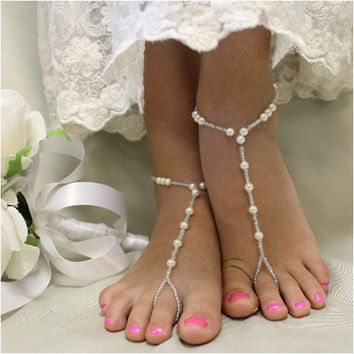 SEA OF LOVE barefoot sandals