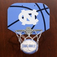 Rawlings North Carolina Tar Heels (UNC) Slam Dunk Softee Hoop Set