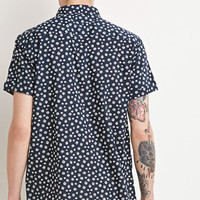 Abstract Polka Dot Shirt