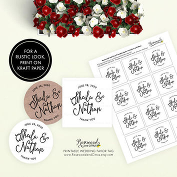 Shop Wedding Favor Gift Tags on Wanelo