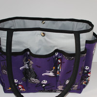 Jack Skellington Nightmare Before Christmas  Multi-Pocket Diaper Bag