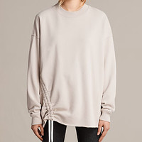 ALLSAINTS US: Womens Able Sweat (Quartz Pink)