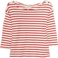 MiH Jeans | Breton striped cotton top | NET-A-PORTER.COM